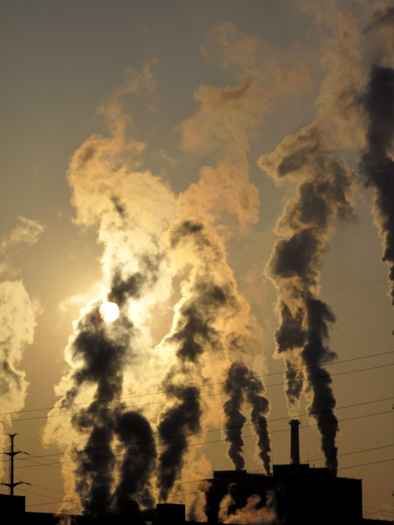 Klimawandel / Co2 / Umwelt / Kraftwerk / China