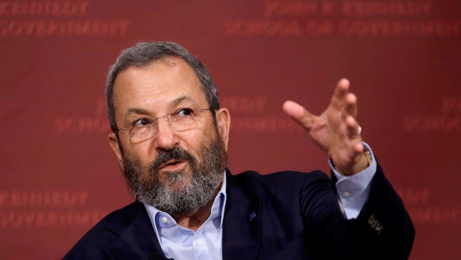 Ehud Barak zweifelt an Trumps Iranstrategie