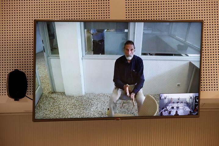 John McAfee bei einer Gerichtsanhörung in Madrid (am 15. Juni): In den USA drohte eine jahrzehntelange Haftstrafe