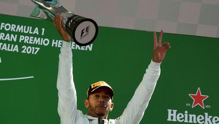 Formel 1 in Monza: Partycrasher Hamilton