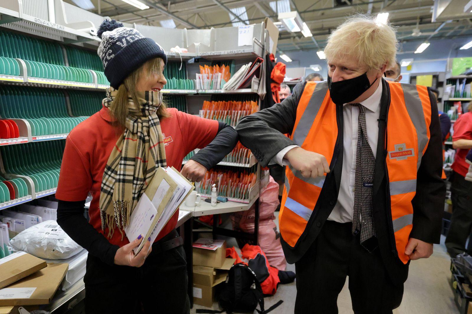 London, Boris Johnson unterstützt Bürgermeisterkandidat Shaun Bailey Image Licensed to Parsons Media. 07/12/2020. London