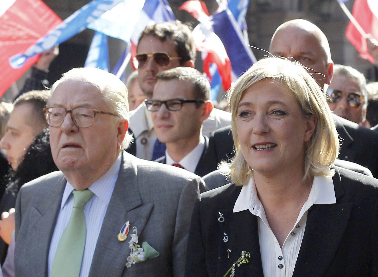 Marine Le Pen/ Jean-Marie Le Pen