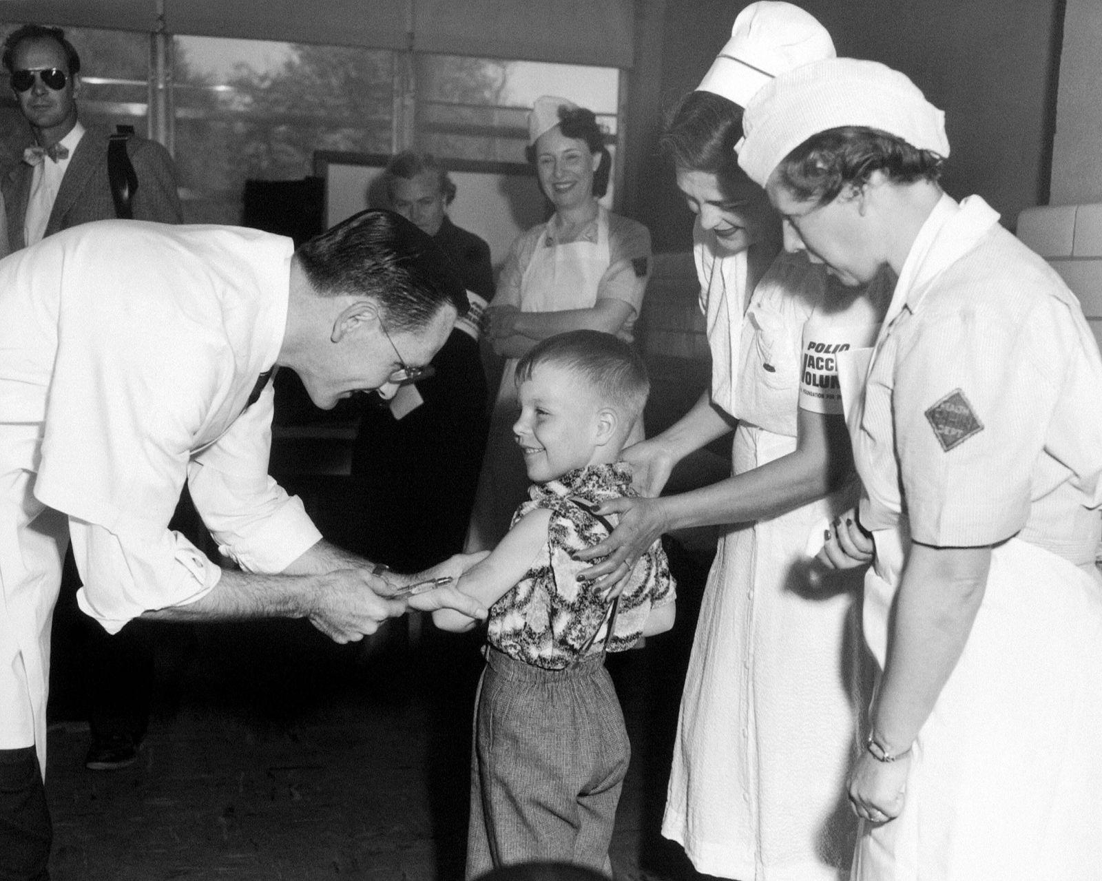 Dr. Richard Mulvaney Polio Impfung