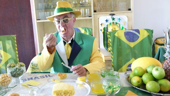 Brasilien-Fan Paviotti: Ein Leben in Grün und Gelb
