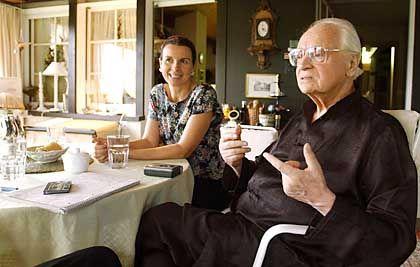 Kishon und seine Frau Lisa Witasek: Der Schriftsteller und die Österreicherin hatten 2003 geheiratet