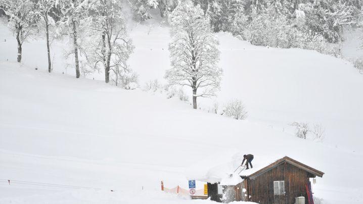 Schneeeinbruch in Österreich: Lawinenwarnstufe 2 bis 5