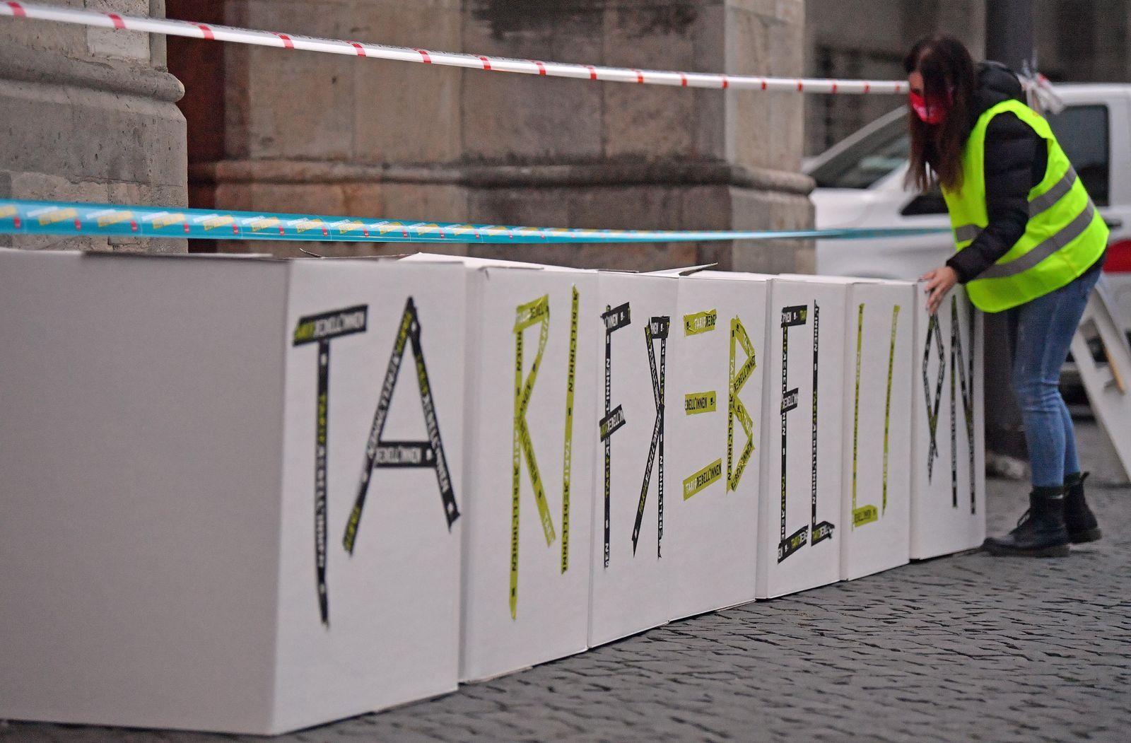 Warnstreiks im Öffentlichen Dienst - Erfurt