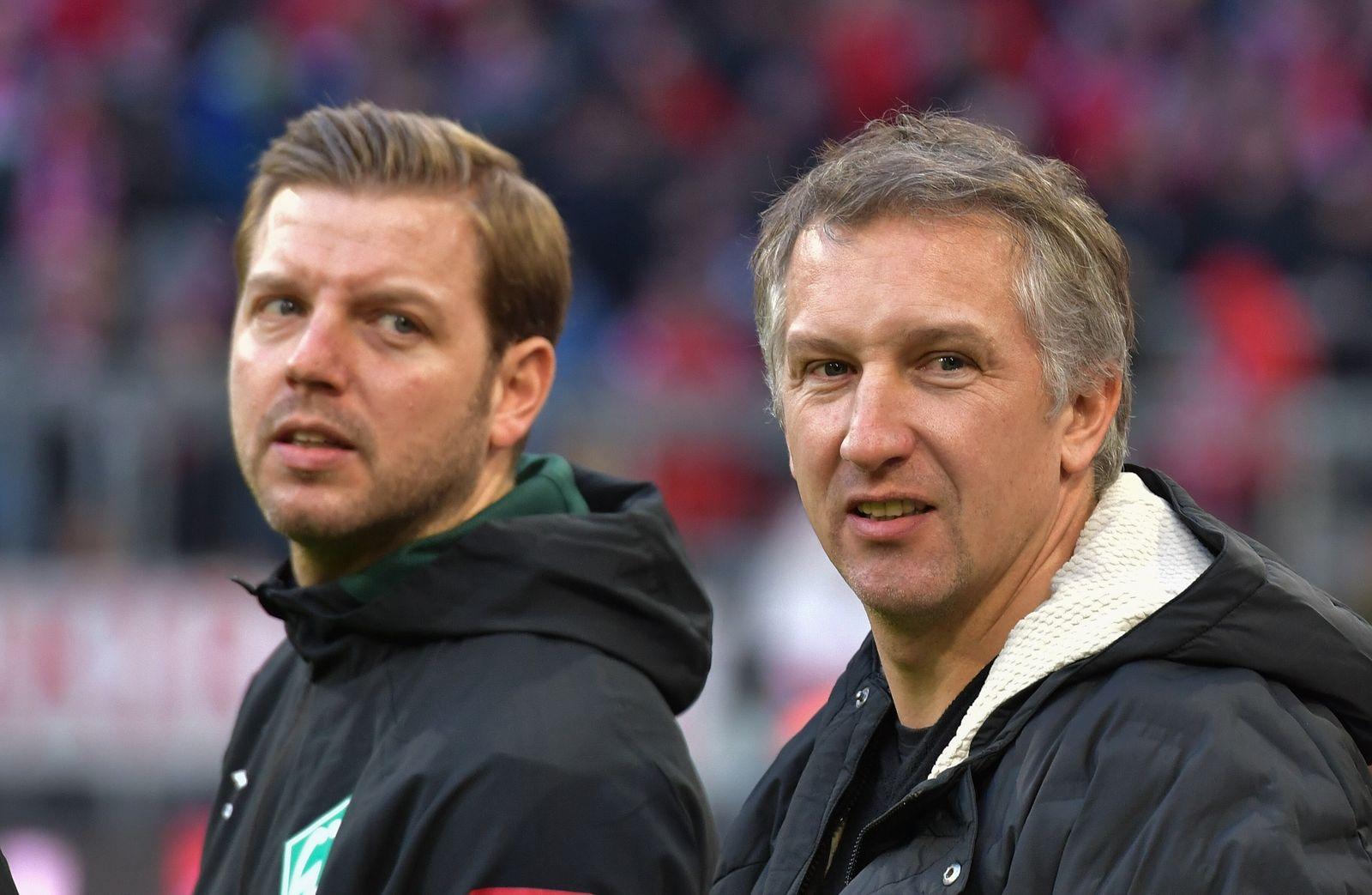 14.12.2019, xblx, Fussball 1.Bundesliga, FC Bayern Muenchen - SV Werder Bremen emspor, v.l. Trainer Florian Kohfeldt (SV