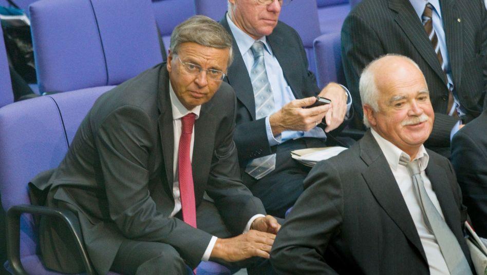 Rettungsfonds-Kritiker Bosbach (CDU): Rüder Umgangston in der Union