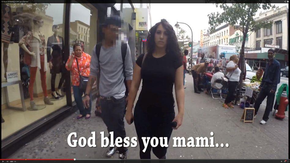 "Videoclip ""Ten Hours of Walking in NYC as a Woman"": Ein Dokument des alltäglichen Sexismus"