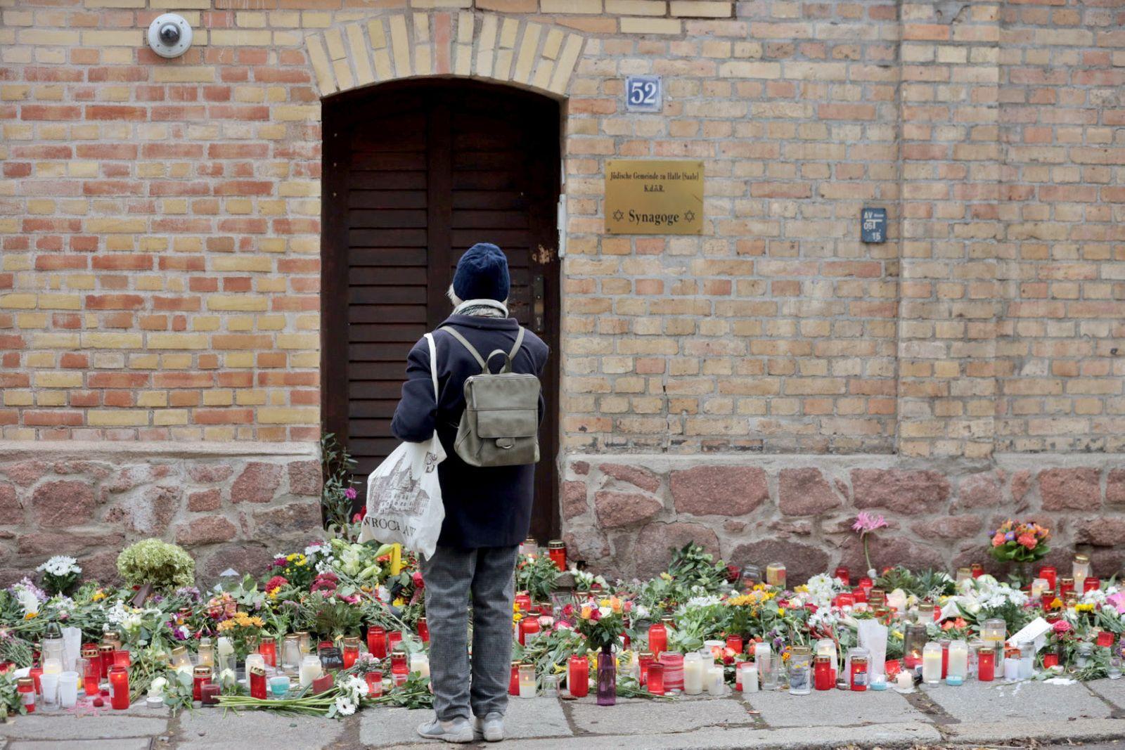 Zwei Tage nach Anschlag in Halle
