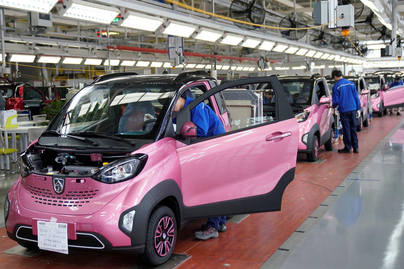 E-Autos Fabrik China