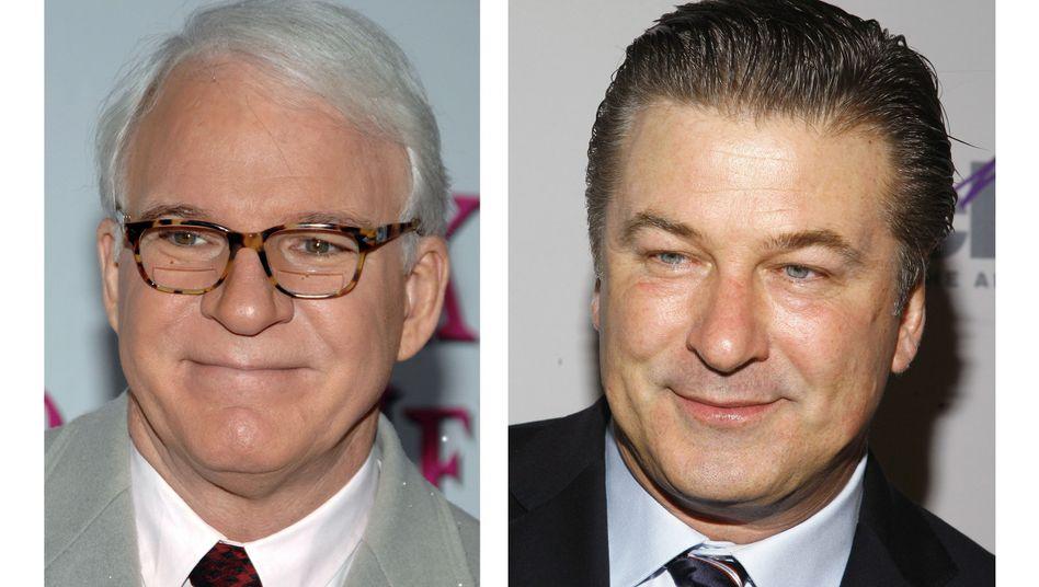 Neue Oscar-Hosts Martin, Baldwin: Doppelter Einsatz, bessere Quote?