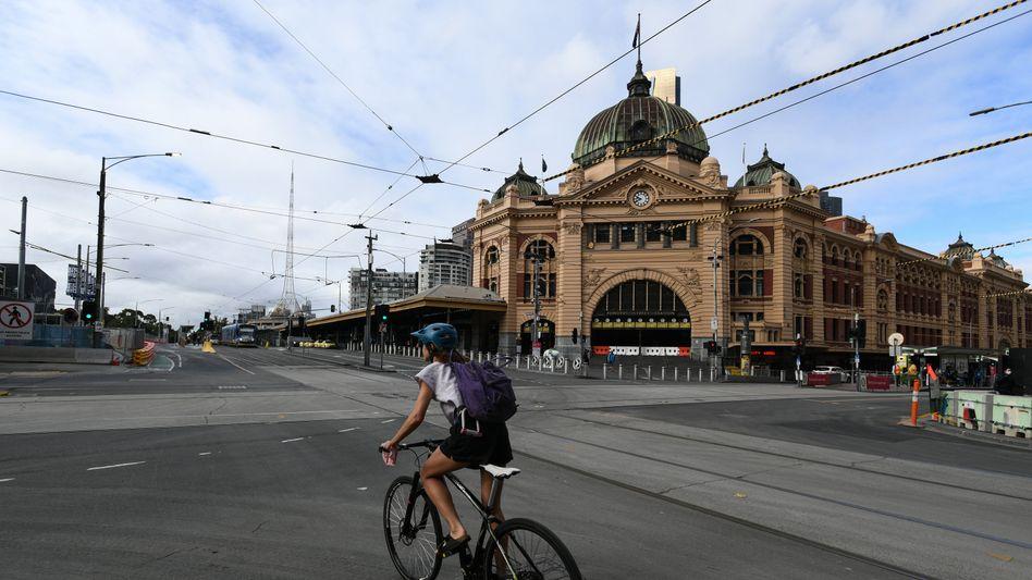 Melbourne im Lockdown: Die dritte Welle soll verhindert werden