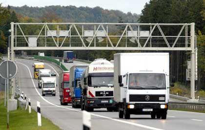 Mautstelle auf der A4 bei Görlitz: Hardware für die Deutschland AG