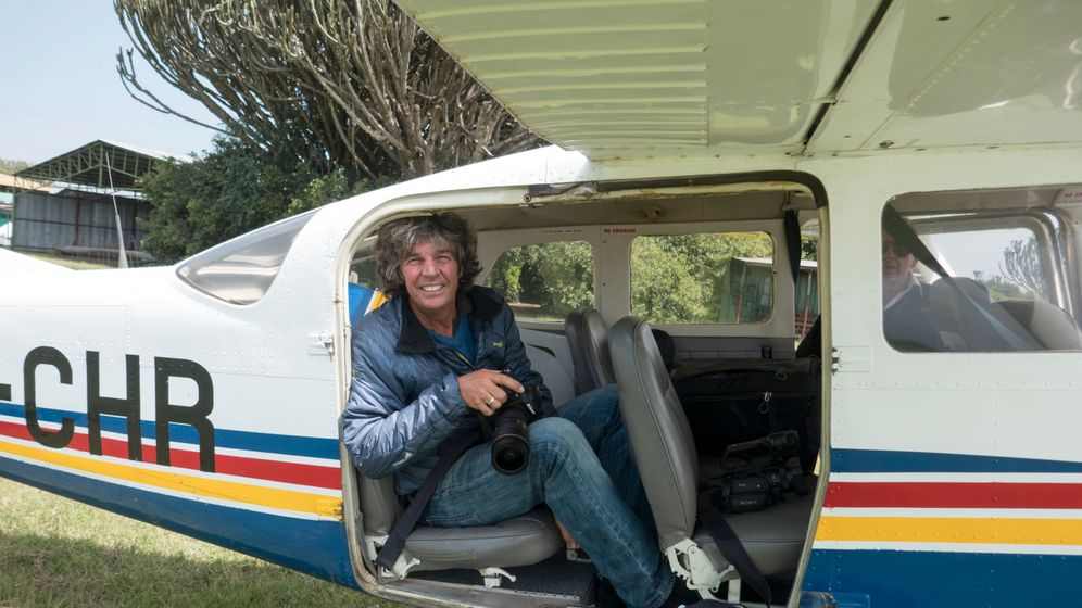 Michael Martin in Kenia: Per Cessna zum Turkana-See