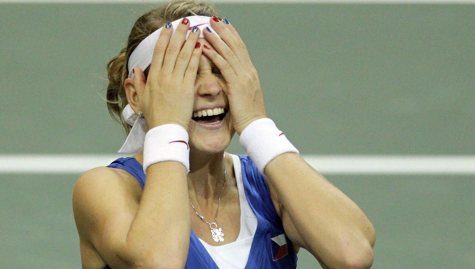 Tennisspielerin Safarova: Mit Tschechien den Fed Cup gewonnen