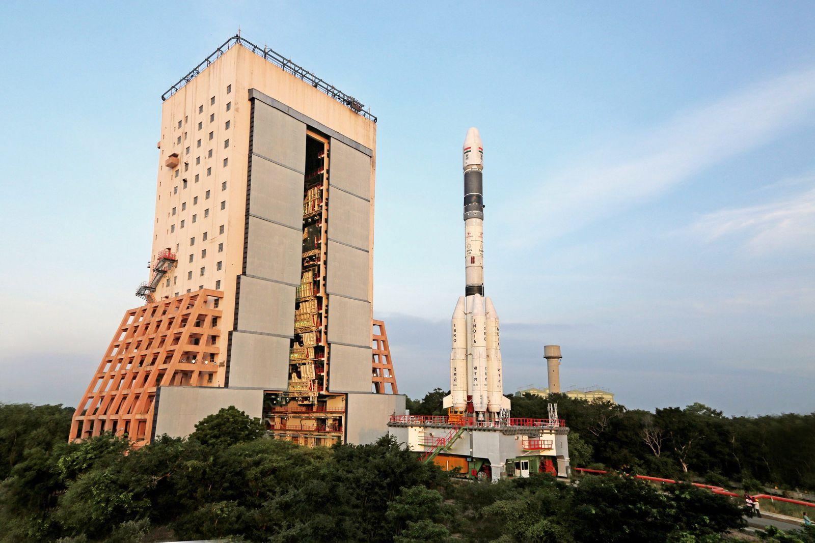 Trägerrakete GSLV/ Indien / Südasien-Satellit