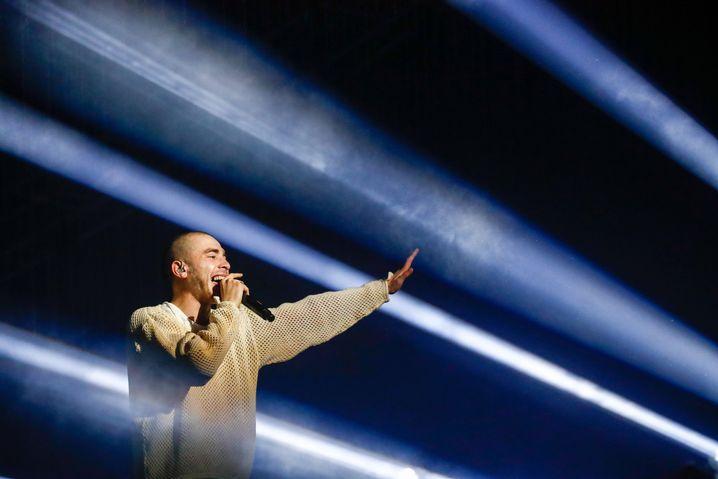 Rapper Husky Dmitry Kuznetsov