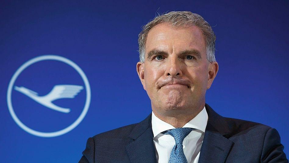Lufthansa-Vorstandsvorschef Carsten Spohr: Verspielt er sein gutes Standing in der Politik?