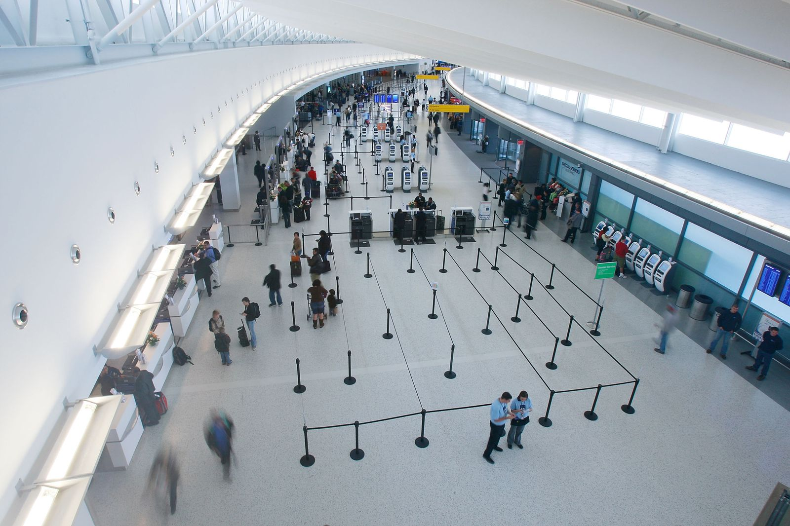 Flughafen / JFK / New York / Terminal 5