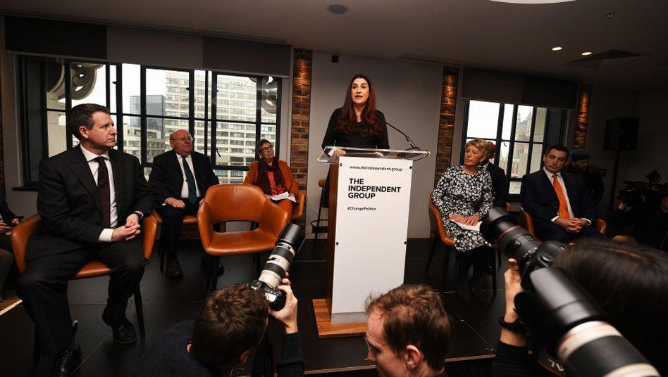 Labour-Abgeordnete Luciana Berger
