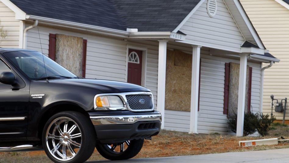 Mein Haus, mein Auto: Der amerikanische Traum ist angekratzt