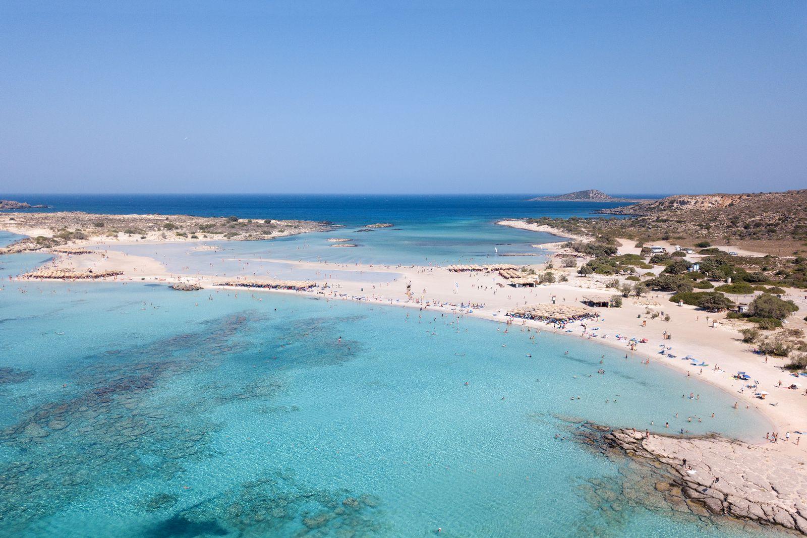 Beach-Inspector/ Elafonissi Beach/ Kreta/ Griechenland