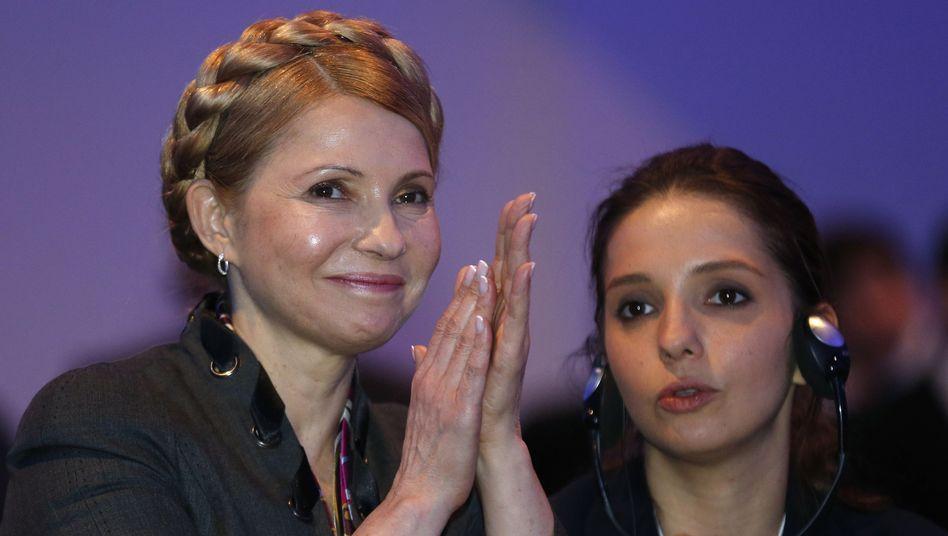 Ukrainische Politikerin Julija Timoschenko: Kandidiert offiziell fürs Präsidentenamt