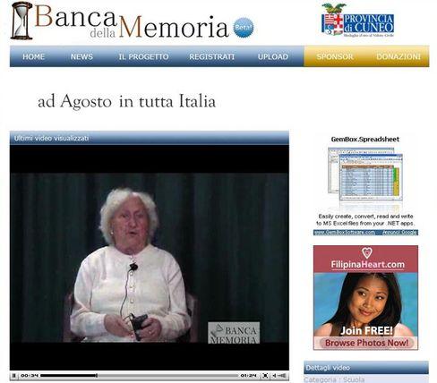 Teresina Bruno: Die Italienerin erzählt online, wie sie 1950 einen LKW-Führerschein machte