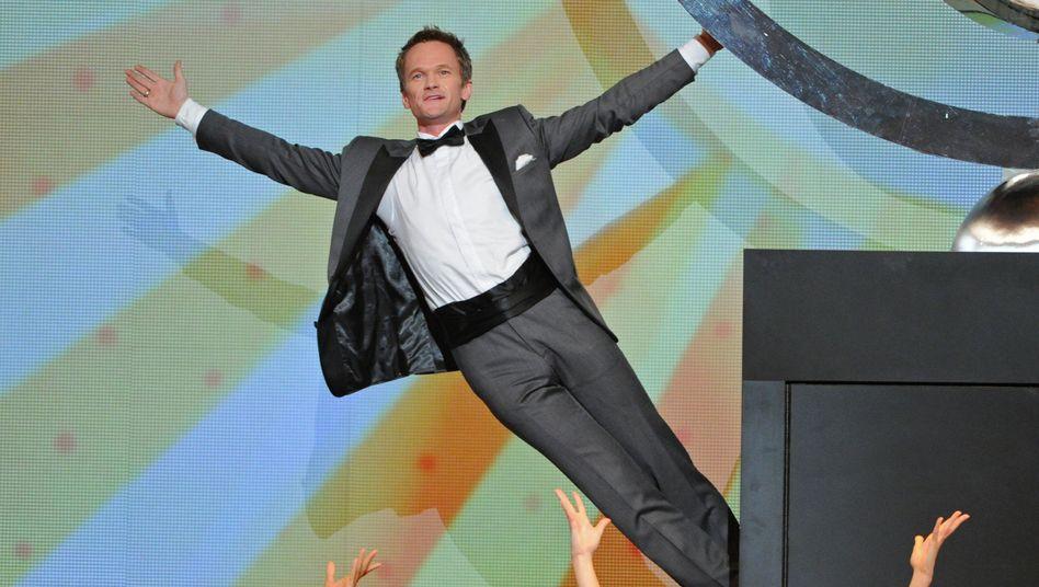 Ganzer Einsatz: Harris als Moderator bei der Verleihung der Tony Awards im vergangenen Jahr