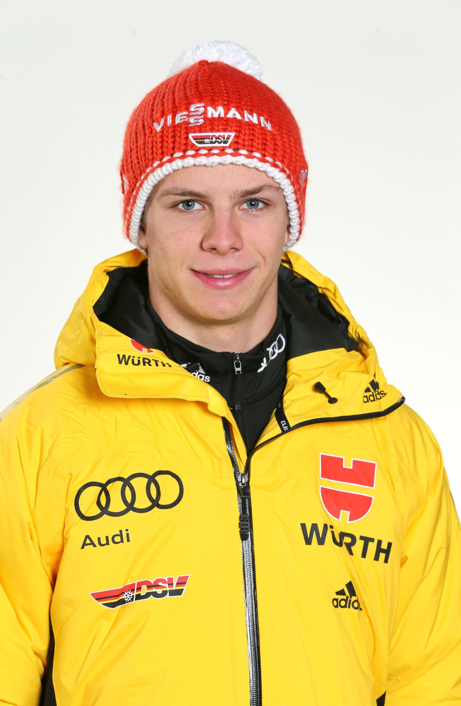 EINMALIGE VERWENDUNG Skispringer/ Andreas Wellinger