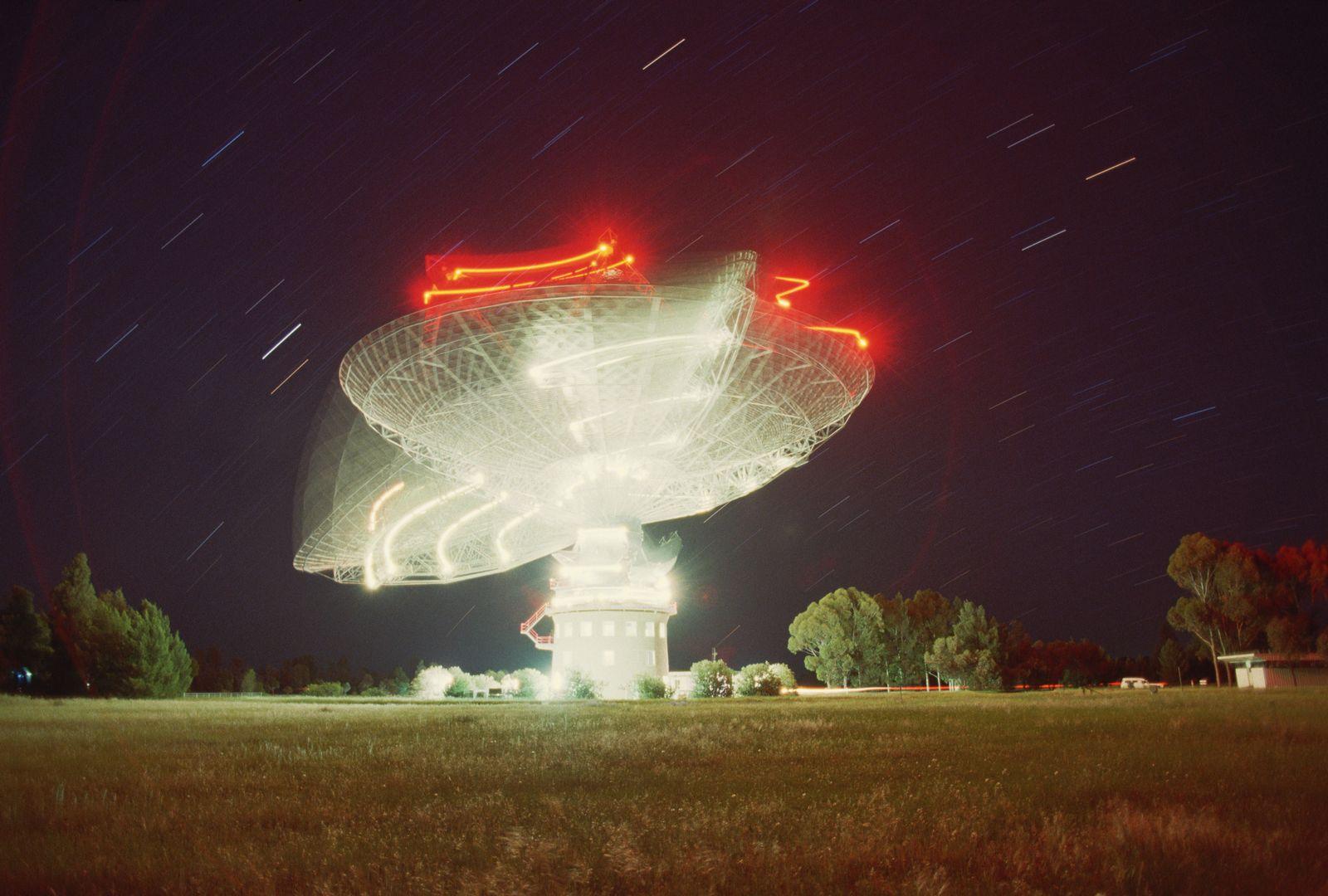 NICHT MEHR VERWENDEN! - Parkes Observatorium / Australien