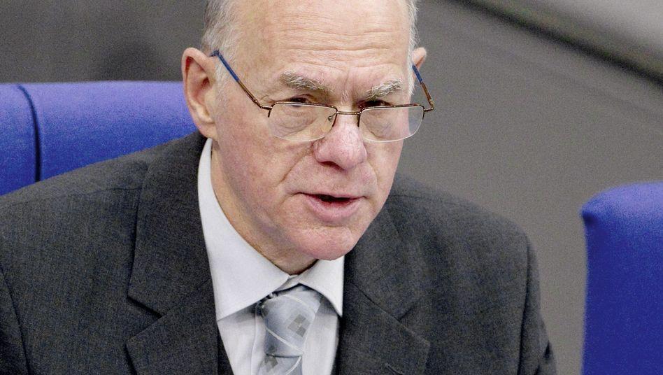 """Bundestagspräsident Norbert Lammert: """"Entscheidungsunfähigkeit zu Protokoll geben"""""""