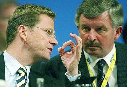 FDP-Dreamteam: Westerwelle und Möllemann