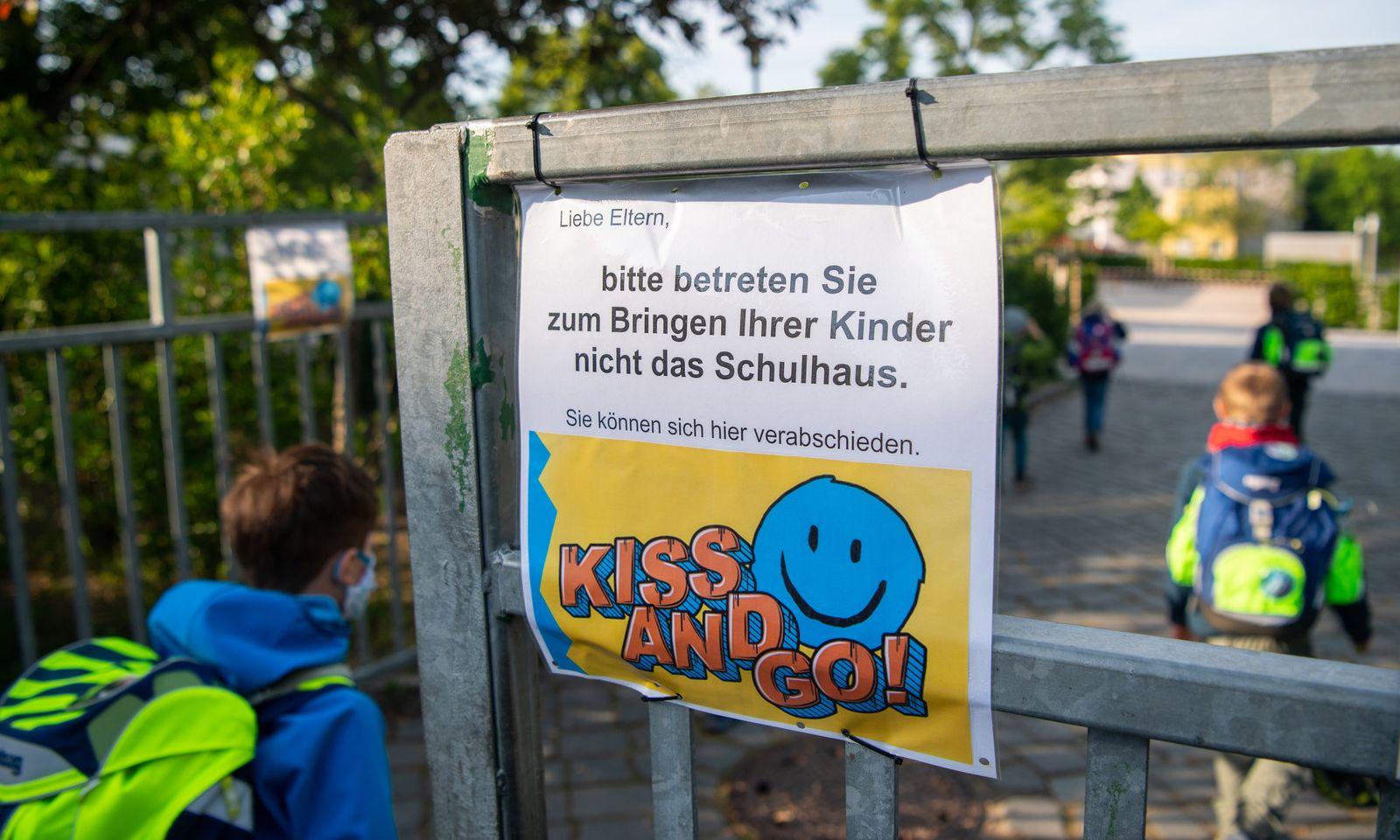 Coronavirus - Schule in Dresden fängt wieder an