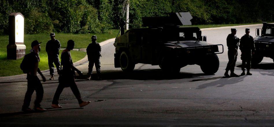 Krawalle in Ferguson: US-Polizei nimmt deutsche Journalisten fest