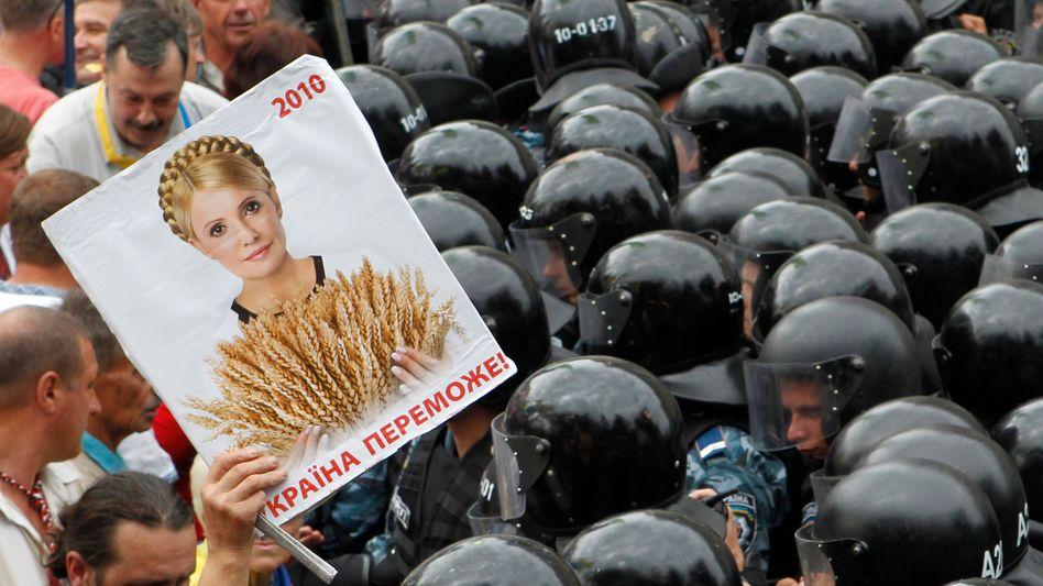 Proteste gegen Timoschenko-Prozess in Kiew: Dilemma für die EU