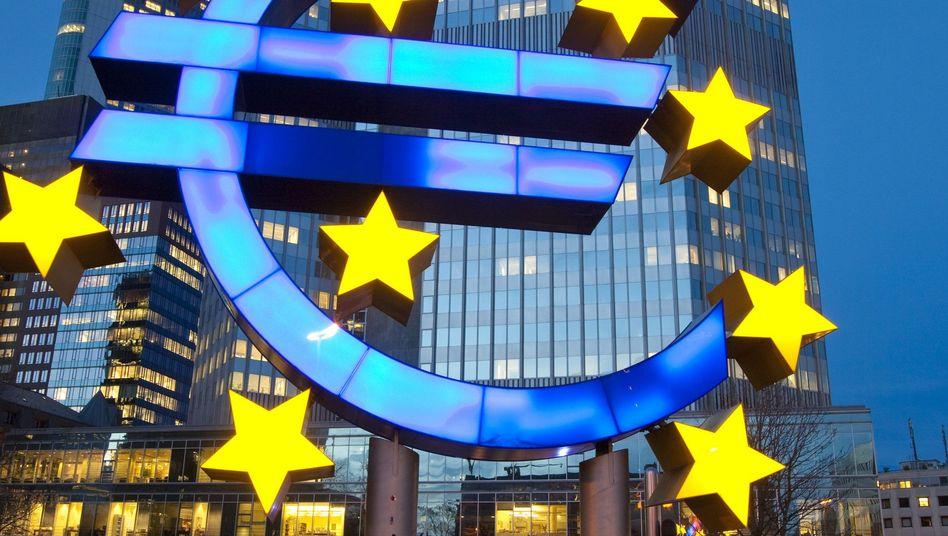 Zentrale der Europäischen Zentralbank: Kein Plan für die geordnete Insolvenz eines Staats