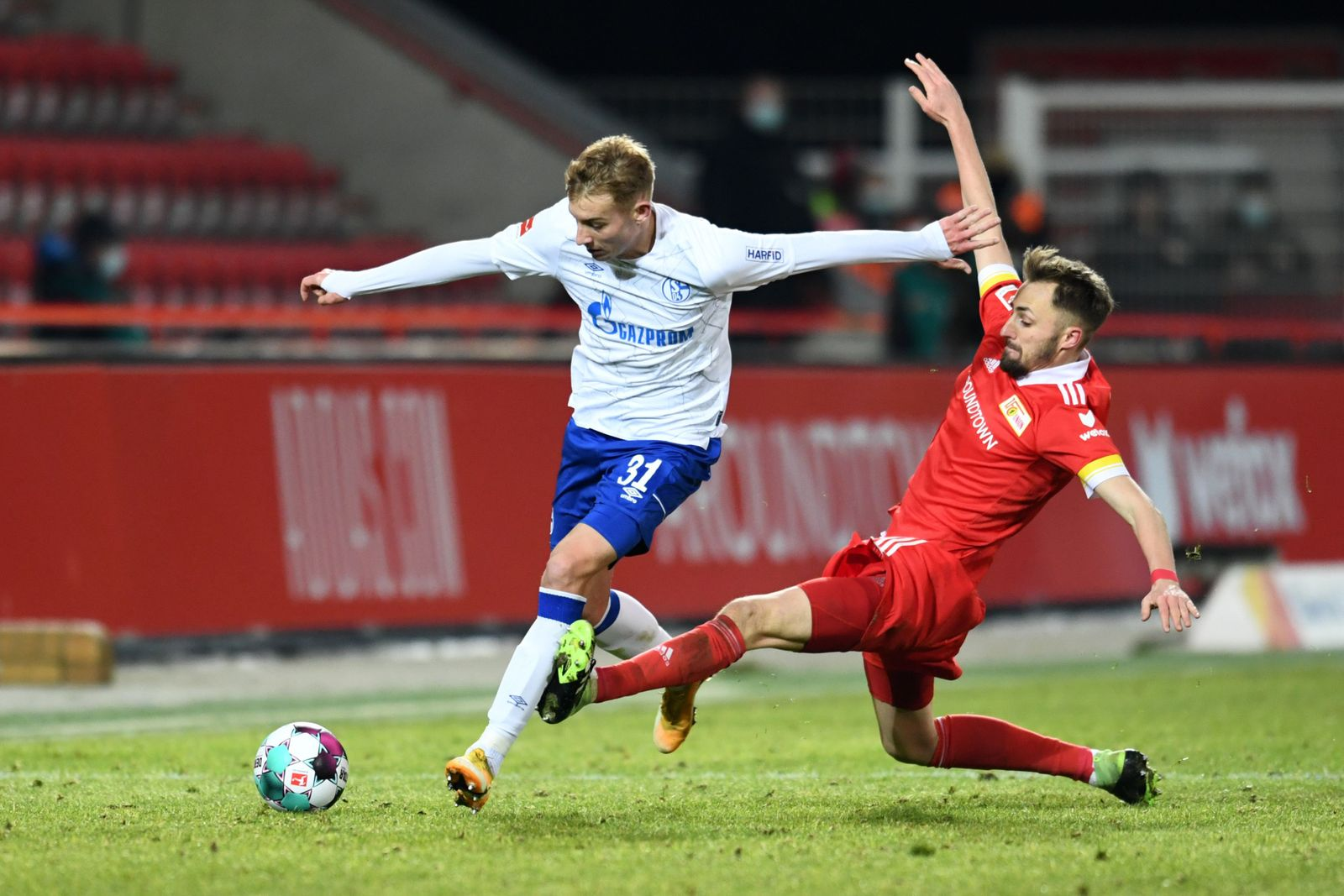 Football: Bundesliga - day 21: 1. FC Union Berlin v Schalke 04