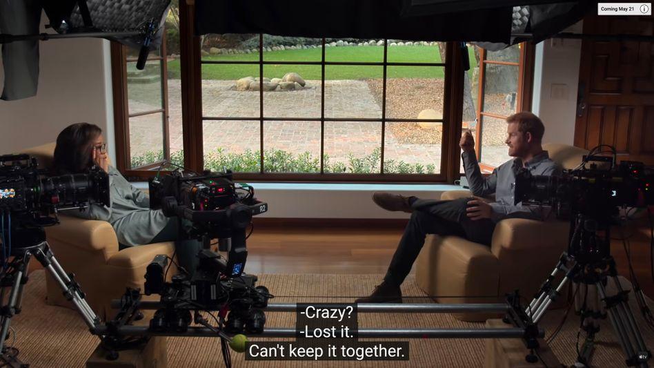 Oprah Winfrey interviewt Prinz Harry: Sagen, worüber man sonst lieber nicht spricht