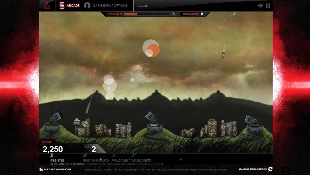 Arcade: Atari-Klassiker im Browser spielen