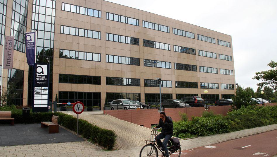 Intertrust-Gebäude in Amsterdam: Hier residieren Tausende von Firmen