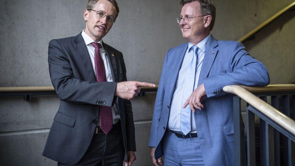"""Konservativer Günther, Linken-Politiker Ramelow: """"Froh, so einen netten Nachbarn zu haben"""""""