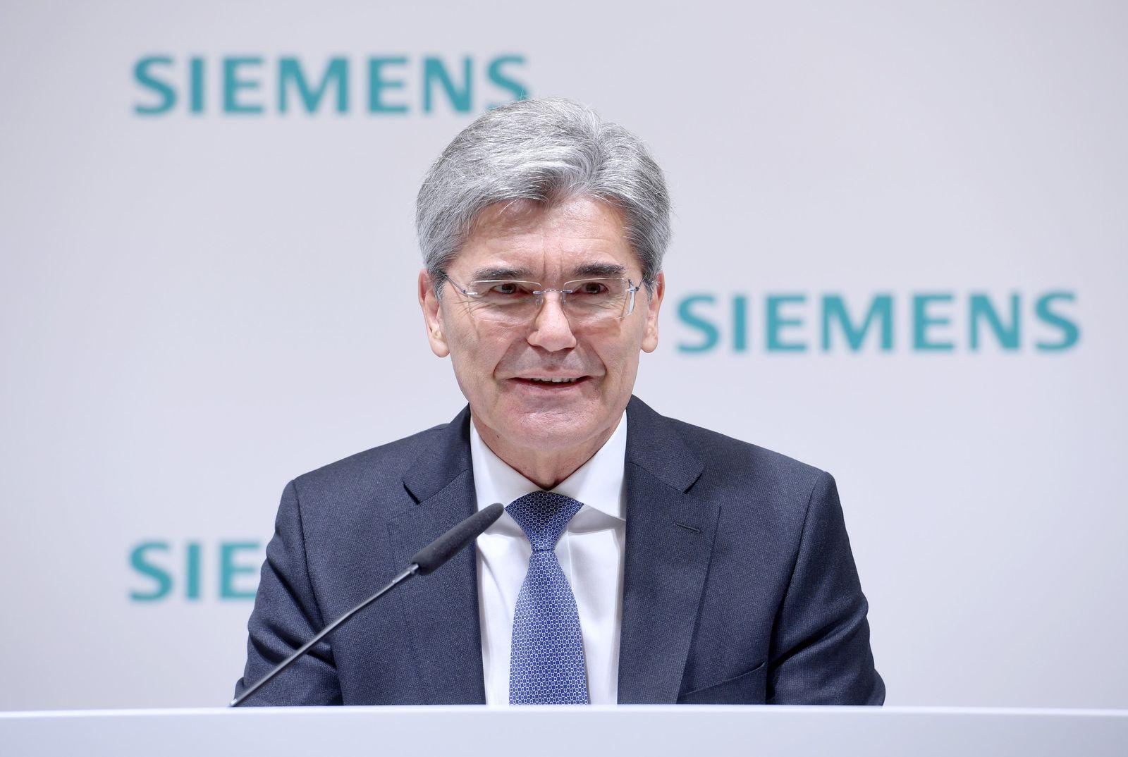 Siemens - Jahrespressekonferenz