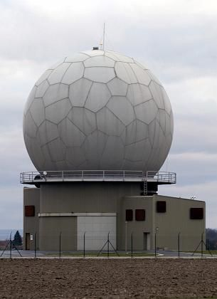 A newly built NATO air-defense radar base near Nepolisy, some 85 kilometers east from Prague: Washington wants to build parts of its missile defense in the Czech Republic and Poland.