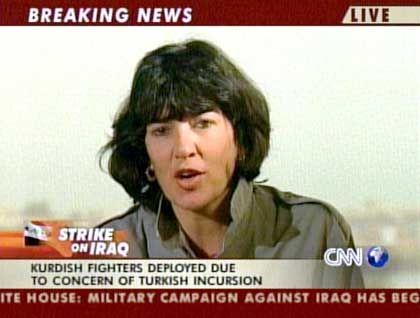 "CNN-Reporterin Amanpour (im Irak): ""Geschichte bahnbrechender Triumphe"""