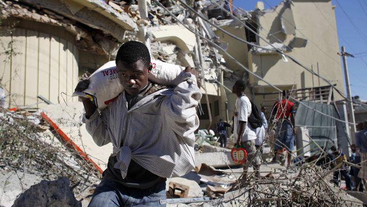 """Wut in Haiti: """"Wir brauchen Essen, die Menschen leiden"""""""