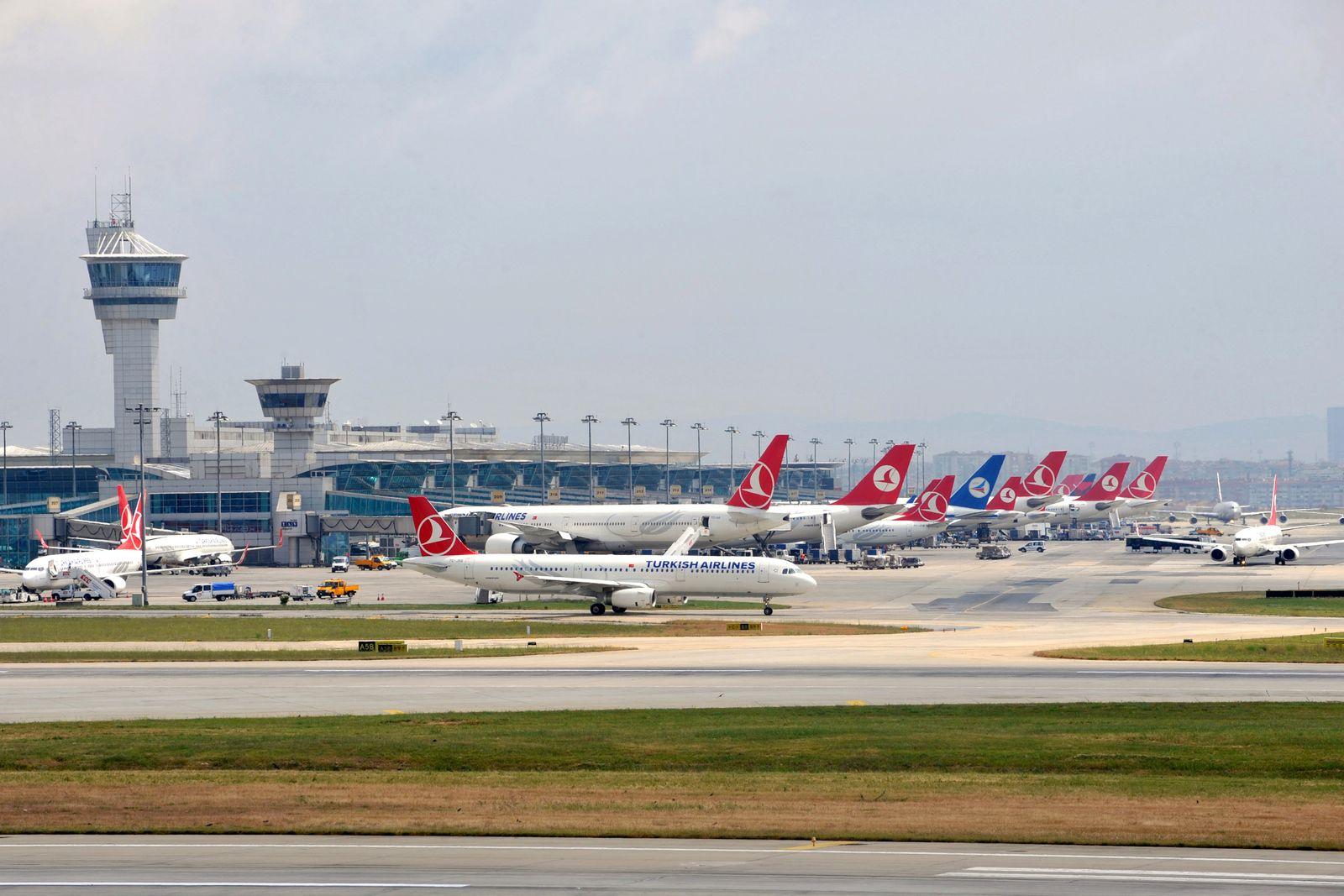 Türkei / Istanbul / Flughafen