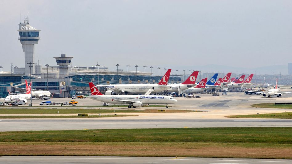 Atatürk-Flughafen in Istanbul